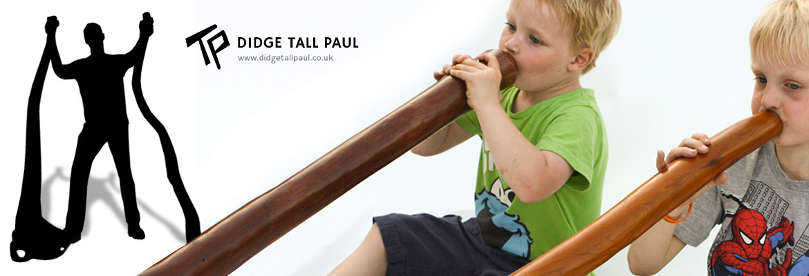 Didgeridoo Shop – Didgeridoos by Tall Paul Header